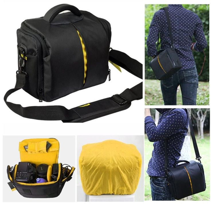 Waterproof Camera Bag for Full Size Cameras and Lenses or for your Mini Cameras and Accessories