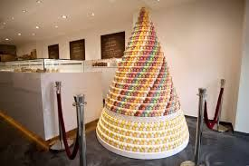 the greatest macaron tower