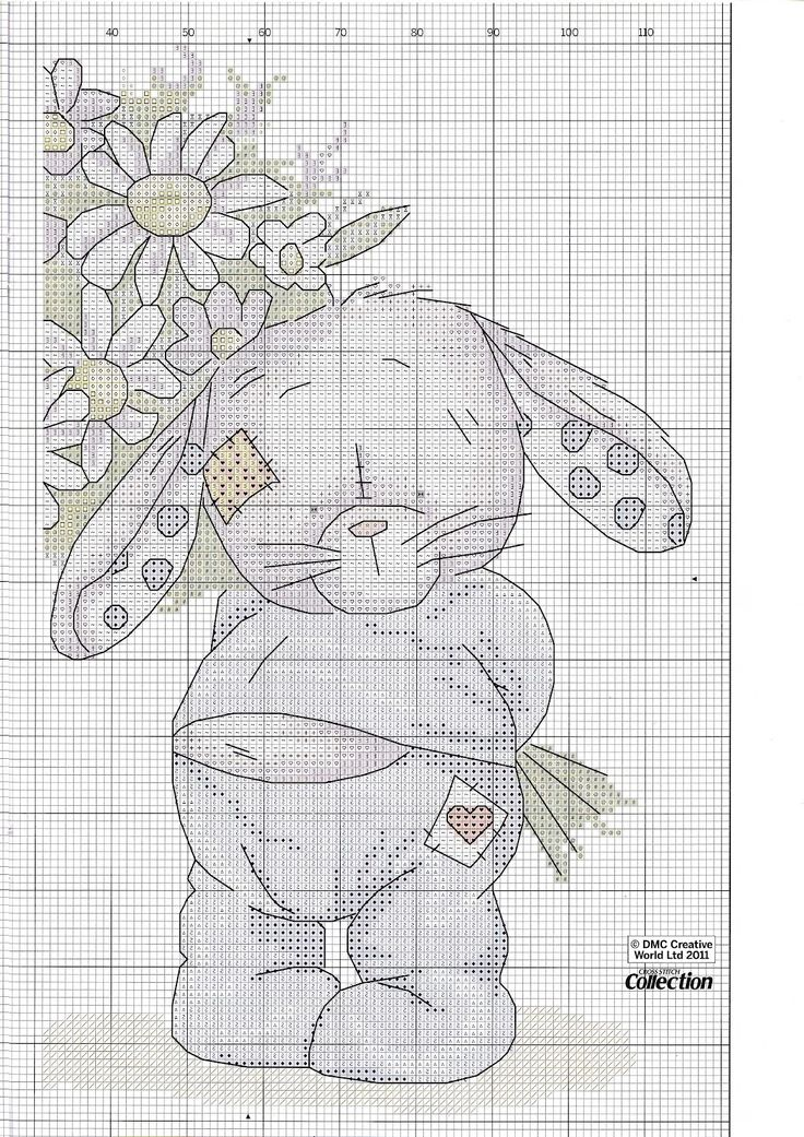 With Love (Somebunny) FromCross Stitch Collection N°197 2011 4 of 4