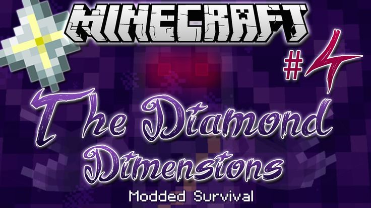"""NETHER STAR"" | Diamond Dimensions Modded Survival #4 | Minecraft"