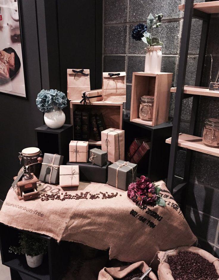 Coffee bay gift display