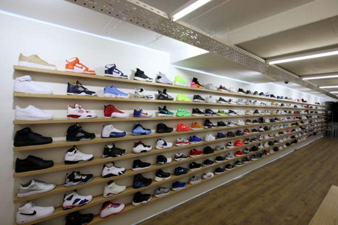sneaker store on fulton