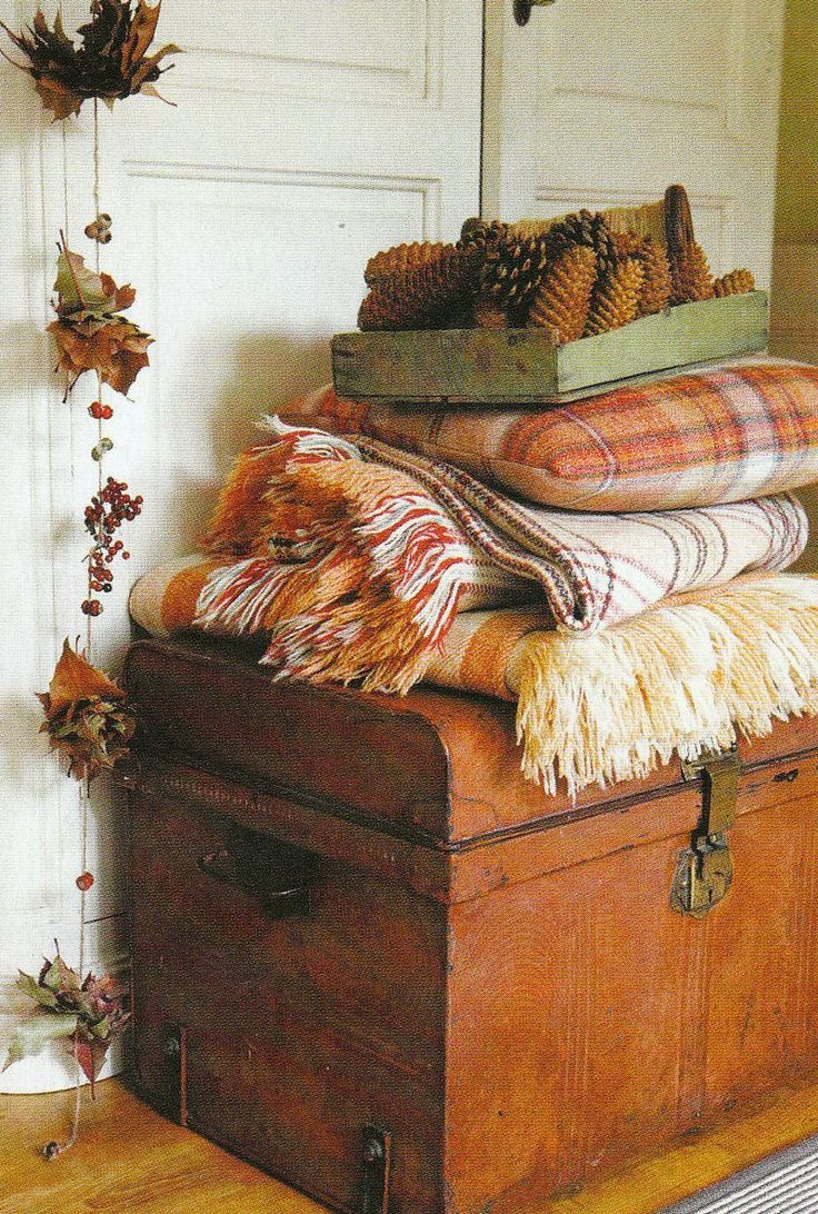 Autumn Blankets Cozy Fall Seasonsstart Collecting Old Quilts And Blankets  For Those Cool Fall Nights  I Love Decorating For This Time Of Year And  Enjoying
