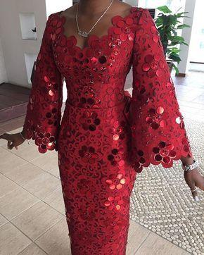 Komole Iro and buba in embellished daisy swirl motif. #Komole ~DKK ~African fashion, Ankara, kitenge, African women dresses, African prints, African men's fashion, Nigerian style, Ghanaian fashion.