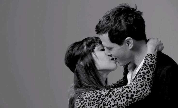 First Kiss video: Filmmaker gets 20 strangers to kiss with varying results. I think it's beautiful. Click through and scroll down to see the clip.
