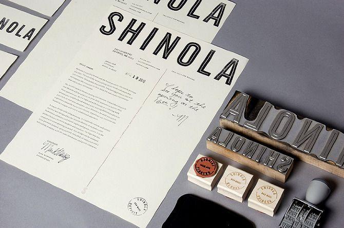 Shinola Branding - Meg Jannott