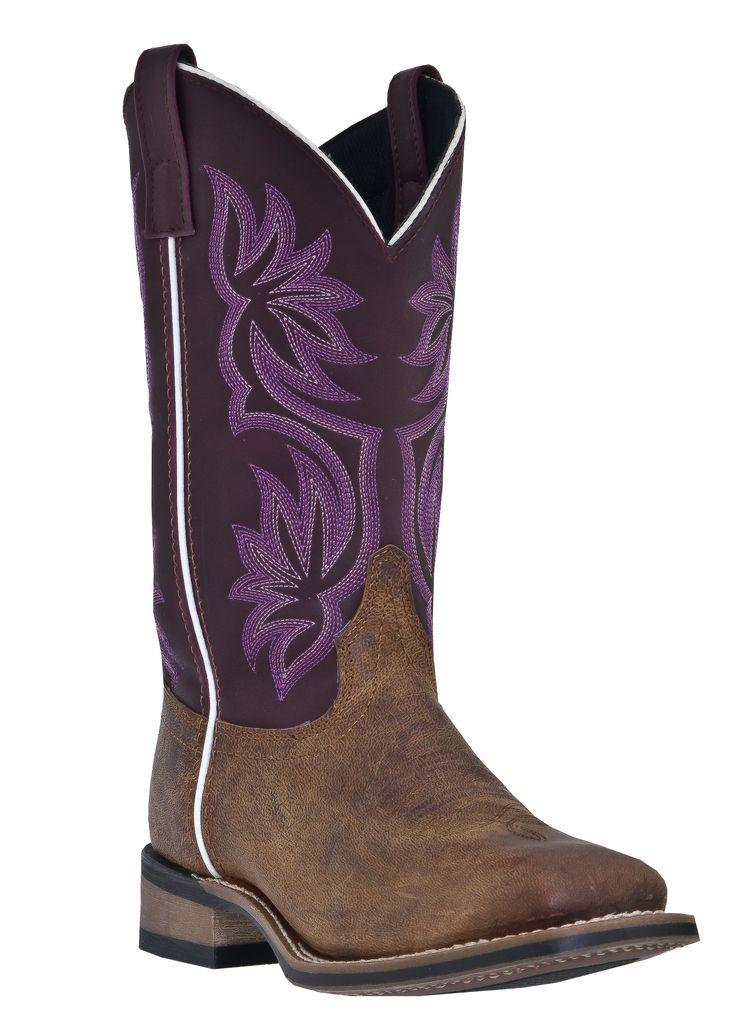 Laredo Western Boots for Women | ... Western Store - Laredo® Women's Mequite Western Boots - Purple, Women