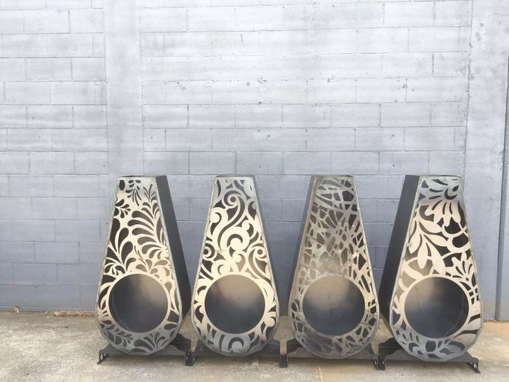 Outdoor fire#brazier#lasercut#corten#unique