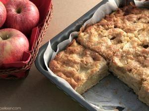 Moelleux aux pommes pour fondre de plaisir !