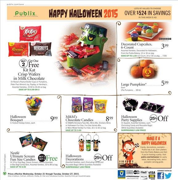Publix Weekly Ad October 21 - 27, 2015 - http://www.olcatalog.com/grocery/publix-weekly-ad.html