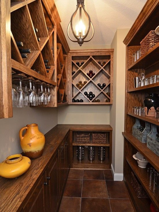 Traditional Wine Cellar Design.