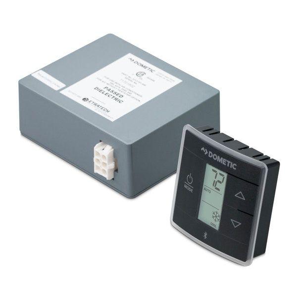 Dometic 3316404 015 Bluetooth Ct Single Zone T Stat W Control Kit Cool Furnace Heat Pump Heat Pump Air Conditioner Heat Pump System Thermostat