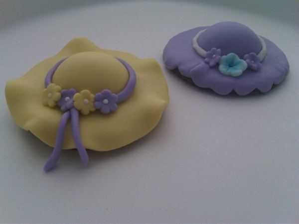 Southern belle hat cookies
