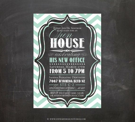 free printable open house invitations