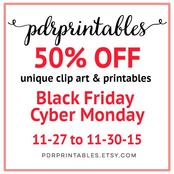 Black Friday - Cyber Monday Sale!