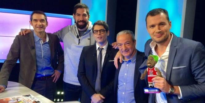 Hand - Médias - Nikola Karabatic invité de SportBuzz sur L'Équipe 21
