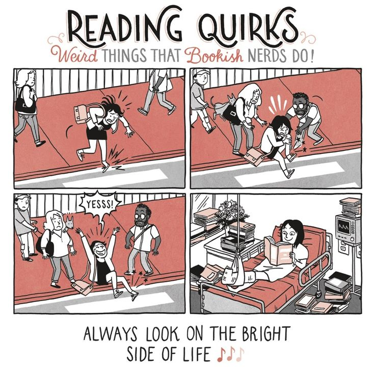 #Booklovers always look on the bright side of life