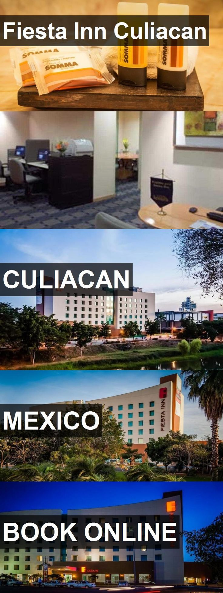 Hotel Fiesta Inn Culiacan in Culiacan, Mexico. For more information, photos, reviews and best prices please follow the link. #Mexico #Culiacan #FiestaInnCuliacan #hotel #travel #vacation