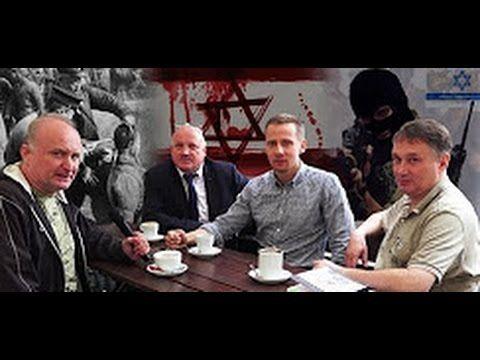 """""""Żydzi realizują postulaty Hitlera"""" - J. Międlar, dr Z. Kękuś, P. Rybak ..."""
