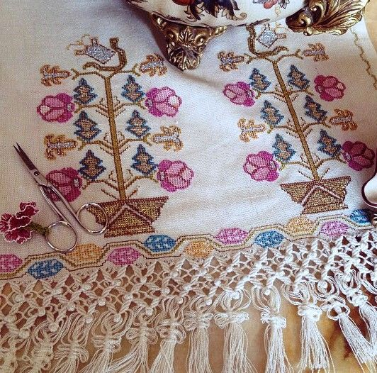 Turkish embroidery - runner