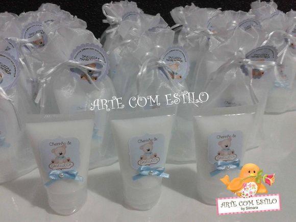Hidratante personalizado - Ursinho