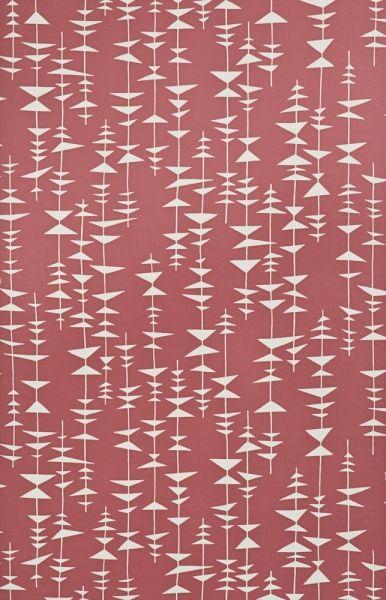 Härlig retrotapet i rött från kollektionen Miss Print 3 MISP1141. Klicka för att se fler inspirerande tapeter för ditt hem!