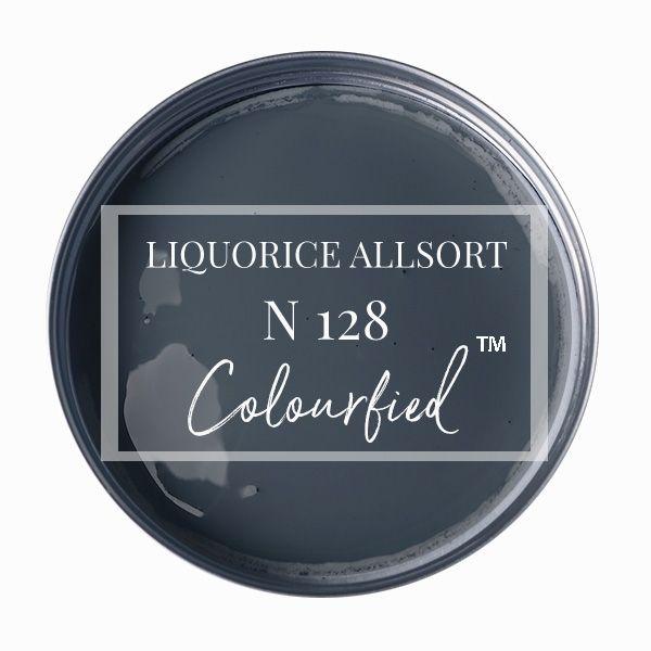 Colourfied's new colour - Liquorice Allsort