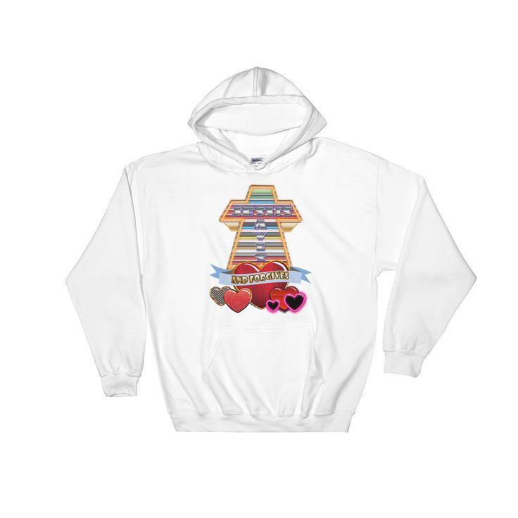 Jesus Saves. Hooded Sweatshirt