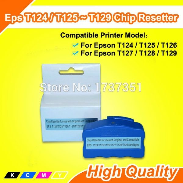14.74$  Watch here - http://alikm3.shopchina.info/go.php?t=32639997978 - T1241 T1242 T1243 T1244 Resetter Chip For Epson T1241 ink Reset  #aliexpresschina