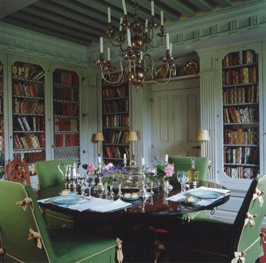 497 best english country house style images on pinterest for English library decor