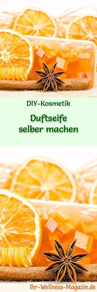 Duftseife selber machen – Seifen-Rezept & Anleitung