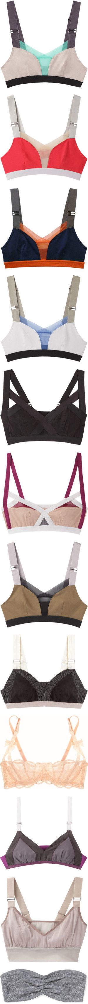 TOP (Bras) by novalikarida on Polyvore featuring women's fashion, intimates, bras, tops, underwear, lingerie, bralets, petite, adjustable bra and bralette bras