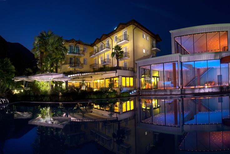 Villa Nicolli Romantic Resort - hotel con centro benessere a Riva del Garda sul Lago di Garda #garda #trentino