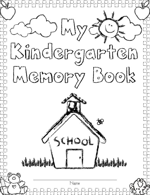 Mrs. Solis's Teaching Treasures: Our Kindergarten Memory Books and Freebie