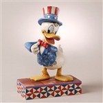 Yankee Doodle Duck-Patriotic Donald Duck Figurine from HOME - Jim Shore Store