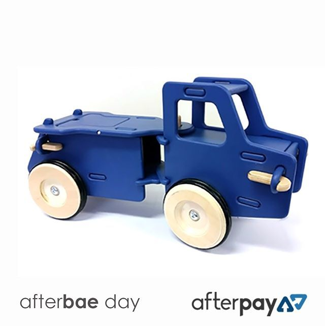 To celebrate AFTERBAE day we have 15% OFF STOREWIDE. Including this gorgeous Blue Moover truck. Simply use code APODAY at checkout to receive your discount. You don't need to be paying via AFTERPAY - this offer is for everyone - but it ends at MIDDAY 15th FEB. So be quick! Link in BIO  http://ift.tt/1t2cZNf  #lucaslovescars #moover #afterpayday #afterpay #afterbae #woodentoys #cartoys #smallbusiness #melbournemums #sydneymums #brisbanemums #tassiemums #perthmums #mumlife #mum  #kids…