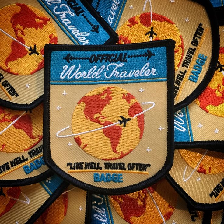 IdeaStorm Media Store — World Traveler Patch - 2nd Edition
