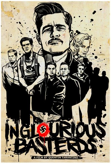 Inglorious Basterds - Poster For Haiti