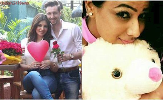 Valentine's Day 2017: Nia Sharma's teddy day pic, Shama Sikander celebration with fiance
