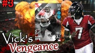 """http://www.MobileMaddenCoins.com - Use code """"RBT"""" for 10% off your order!  CAN WE SMASH 1000 LIKES?  ALL EPISODES OF VICK'S VENGENACE:  https://www.youtube.com/playlist?list=PLy3vfFdVcLqGmZBny-jSSc65aZWXDjA8B  Current Series Rules:  1 Upgrade per Michael Vick 100 Total Yards, 1 Upgrade per win, 1 Upgrade for every TD that is not scored by Vick , 2 Upgrades for every Michael Vick Touchdown, 1 extra upgrade if opponent rage quits, 1 extra upgrade per every milestone reached (avoid relegation…"""