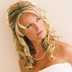 Like the loose/wavy curls w/ partial updo...so many decisions!