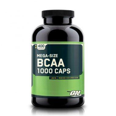 ON BCAA MEGA SIZE 1000 МГ 400 КАПС.ON BCAA Mega Size 1000 мг - это незаменимые аминокислоты с разветвленными цепочками.#do4a #аминокислоты