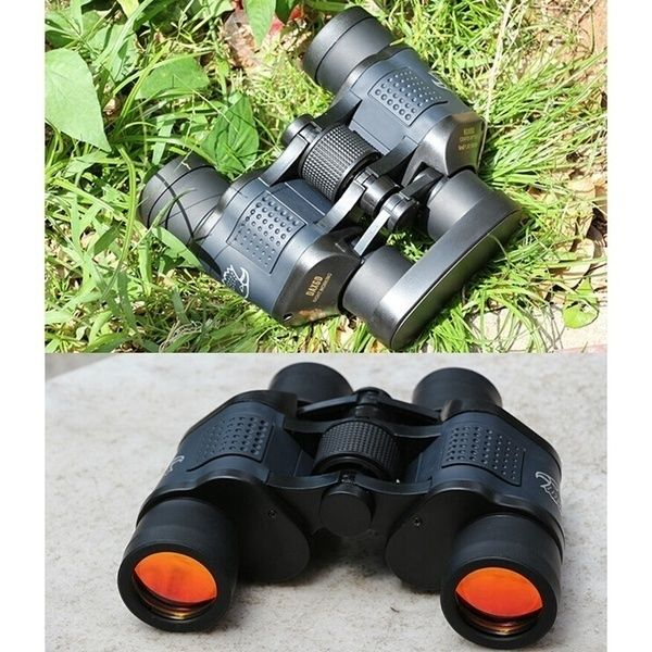 60x60 3000M Ourdoor Waterproof Telescope High Power Definition Binoculos Night Vision Hunting Binoculars Monocular Telescope