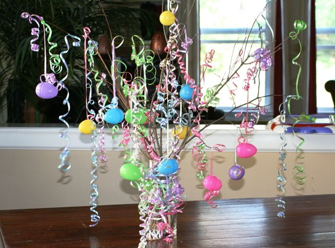 Make your own Easter Tree DIY guide   My mom and daughter loved this craft! Find more Easter crafts for kids too.