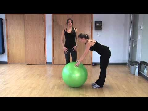 http://www.diet.com/videos/ Are you new to exercise? Try this beginner exercise ball workout video. If you are not a beginner, simply add on some weight! This workout is safe and all you need is a pair of dumbbells and exercise ball.    Visit Diet.com Today for healthy recipes! http://www.diet.com/recipes  Follow us on Twitter - http://Twitter.c...