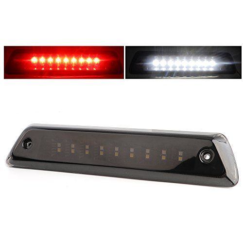 2009-2014 Ford F150 3rd Brake Light/Reverse Lamp with Waterproof Design(Smoke Lens) - Center High Mount 3rd Brake Light/Reverse Light for:2009-2014 Ford F-150XL | XLT | STX | FX2 | FX4 | Limited | LariatKing Ranch | Harley Davidson | PlatinumRaptor Models Excluded.This rear high mount brake light is designed for 2009-2014 Ford F150(XL | XLT | STX | FX2 | FX4 | Limited | Lariat|Kin...