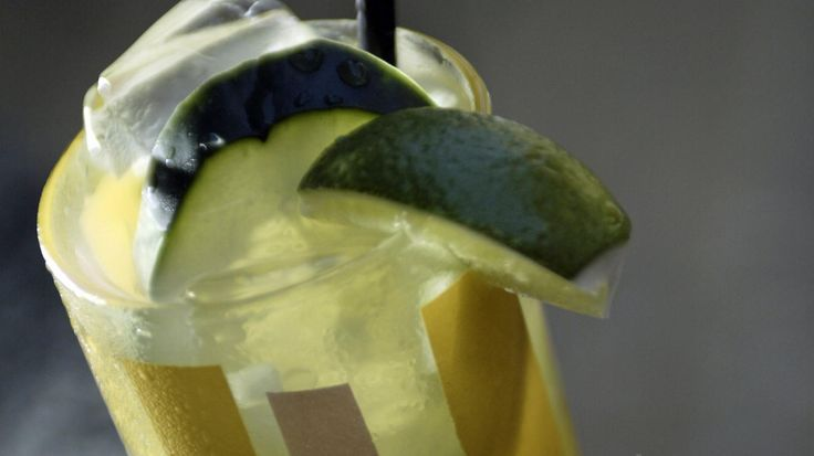 Refreshment doesn't get much simpler than a four-ingredient cucumber cooler. This recipe, from Mary Sue Milliken and Susan Feniger, requires just a few minutes
