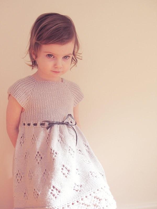knit dress. pattern by tikki.