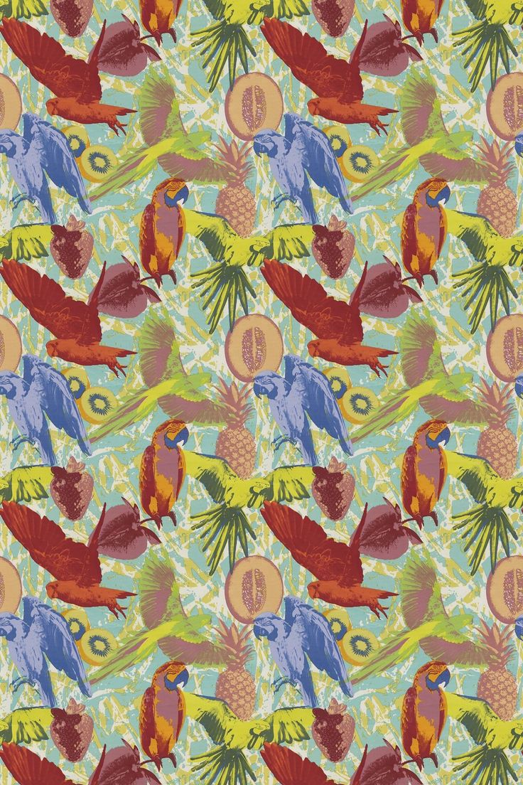 Martinique Tropical Pattern And Palette Pinterest