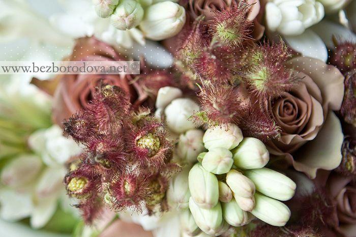 Коричневые розы, Кофейные розы, Розы, Свадебный букет, Тубероза, Коричневый свадебный букет, Букет невесты, | Евгения Безбородова